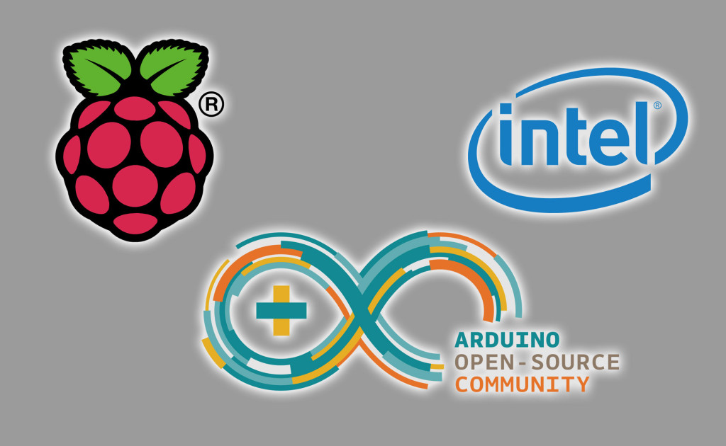 Raspberry Pi, Arduino, Intel Edison
