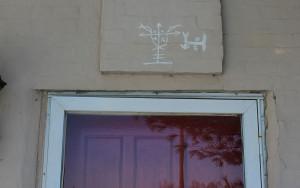 Symbols Above Front Door
